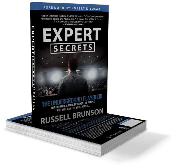 Prix Livre Expert Secret Russell Brunson Avis